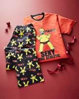 Fashion World Personalised Simpsons Sexy Pyjamas