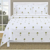 JCPenney Lamont Home The Palm Tropical Coverlet