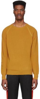 eidos Orange Waffle Sweater