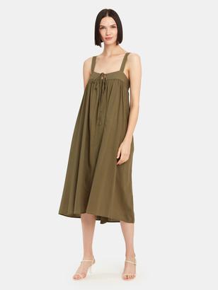 XiRENA Kynsley Square Neck Midi Tank Dress