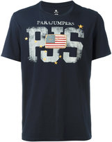 Parajumpers flag patch T-shirt - men - Cotton - M