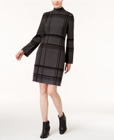 Style&Co. Style & Co Petite Plaid Sweater Dress, Created for Macy's