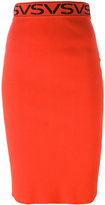 Versus midi pencil skirt - women - Polyester/viscose - 40