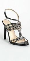 Camille La Vie High Heel Fine Rhinestone Sandal