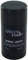 Giorgio Armani Code by Deodorant Stick for Men (2.6 oz)