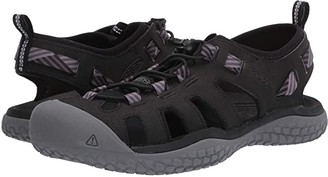 Keen Solr Sandal (Black/Steel Grey) Women's Shoes