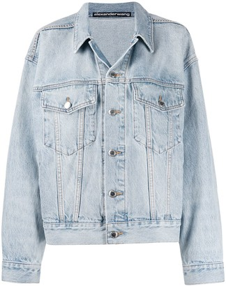 Alexander Wang button-up denim jacket