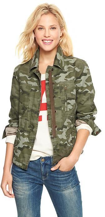Gap Printed utility jacket