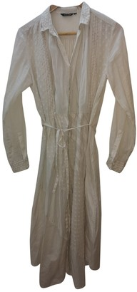 Pas De Calais Ecru Cotton Dresses