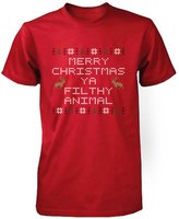 Love 365 Printing YA FILTHY ANIMAL Funny Shirt