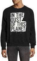 BLK DNM Cotton Graphic Sweatshirt