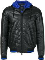 Armani Jeans hooded bomber jacket