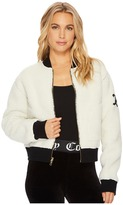 Juicy Couture Sherpa Reversible Jacket Women's Coat