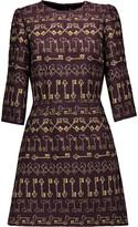 Dolce & Gabbana Printed brocade mini dress