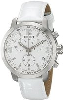 Tissot Unisex TIST0554171601700 PRC 200 Chronograph Analog Display Swiss Quartz White Watch