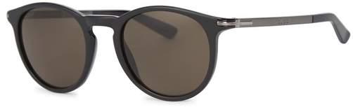 Gucci Black Round-frame Sunglasses