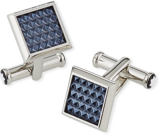 Montblanc Men's Meisterstuck Patterned Square Cufflinks
