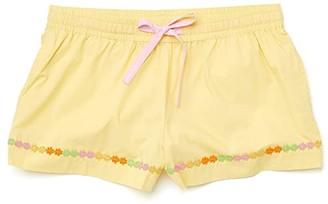 ban.do Daisy Chain Leisure Shorts (Yellow) Women's Shorts