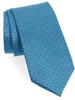 Canali Men's Micro Print Silk Tie