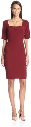 Society New York Women's Square Neck Dress