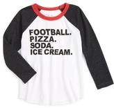 Chaser Toddler Boy's Football Graphic T-Shirt