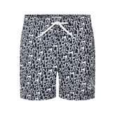 Calvin Klein Calvin KleinBoys Logo Print Swim Shorts