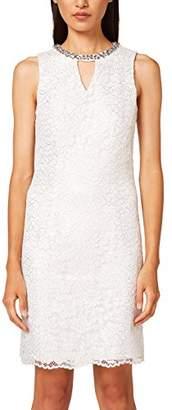 Esprit Women's 0eo1e027 Party Dress, White (Off White 1), (Size: )