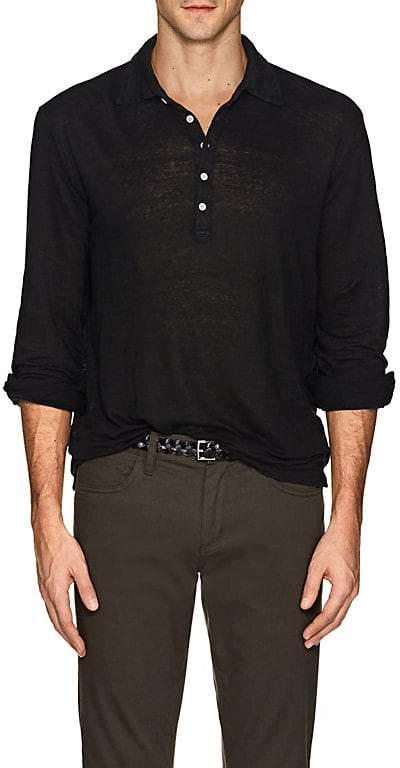 Massimo Alba Men's Linen Jersey Henley