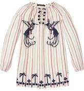 Scotch & Soda Embroidered Tunic Dress
