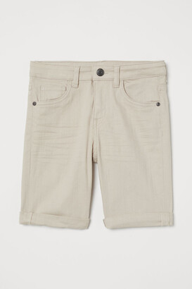 H&M Twill Shorts - Beige
