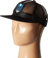 Coal Men's the Orin Full Mesh Trucker Hat Adjustable Snapback Cap