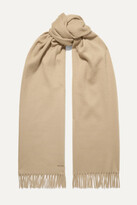 Thumbnail for your product : Loro Piana Sciarpa Fringed Cashmere Scarf - Neutrals