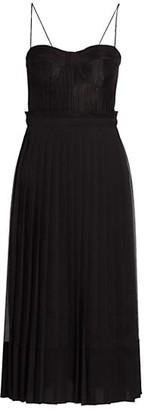 Alexis Inasia Pleated Midi Dress