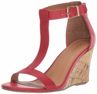 Kenneth Cole Reaction Women's Ava T-Strap Wedge Sandal