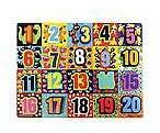 Melissa & Doug ; Jumbo Numbers Chunky Puzzle