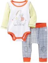 Boppy Animals Bodysuit & Pant Set (Baby Boys)