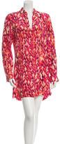 Alexis Silk Snakeskin Print Dress