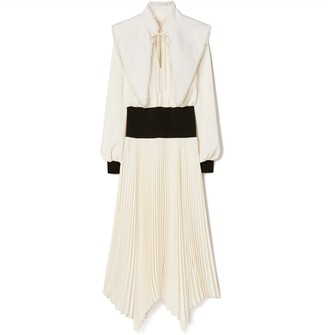 Tory Burch Removable Collar Dress