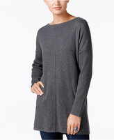 Style&Co. Style & Co Boat-Neck Tunic Sweater, Created for Macy's