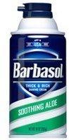 Alöe Barbasol Soothing Thick & Rich Shaving Cream 10 Oz