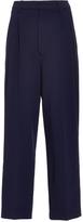 Antonio Berardi Navy Tapered Cropped Trouser