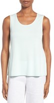 Eileen Fisher Silk Jersey Tank (Regular & Petite) (Online Only)