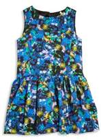 Milly Minis Toddler's, Little Girl's & Girl's Jewel-Print Drop-Waist Dress