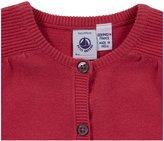 Petit Bateau Knit Sweater - Bright Pink-3 Years