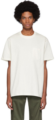 Norse Projects Off-White Joannes Pocket T-Shirt