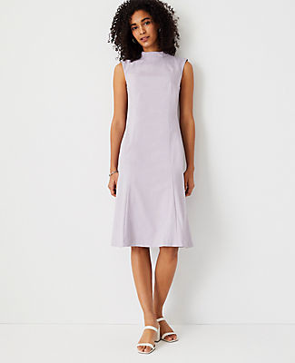 Ann Taylor The Mock Neck Sheath Dress
