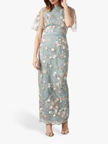 Phase Eight Collection 8 Glenda Floral Dress, Seafoam Green