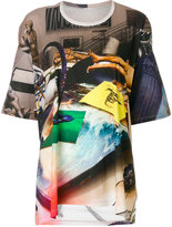 Marios oversized abstract printed T-shirt