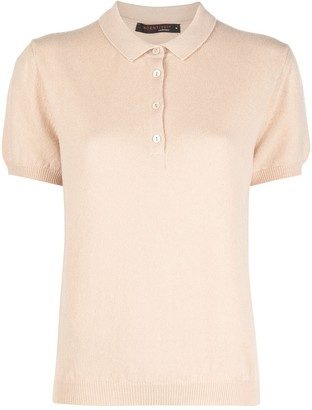 Incentive! Cashmere Knitted Polo Shirt