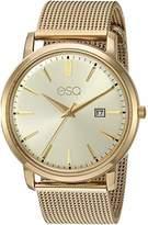 ESQ Men's IP Stainless Steel Mesh Bracelet Watch FE/0042
